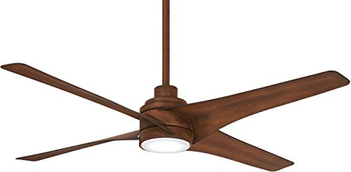 Minka-Aire F543L-DK, Swept LED 56 Ceiling Fan, Distressed Koa Finish