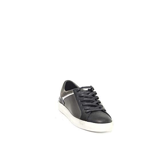 Sneakers Uomo Pelle London Crime 10012a1731 Nero OqFw5pvf