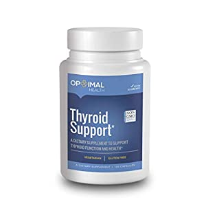 Optimal Thyroid Support Supplement with Iodine – Doctor Formulated – Metabolism, Energy, Focus, Weight Loss – Vegetarian…