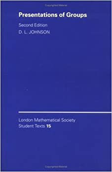LMSST: 15 Presentation of Group 2ed (London Mathematical Society Student Texts)