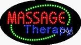 Massage Therapy Flashing & Animated LED Sign (High Impact, Energy Efficient)