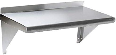 Stainless Steel Wall Mount Shelf 18 x 30 – NSF – Heavy Duty