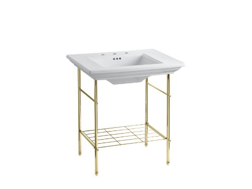 KOHLER K 6880 CP Memoirs Table Legs, Polished Chrome   Pedestal Sinks    Amazon.com
