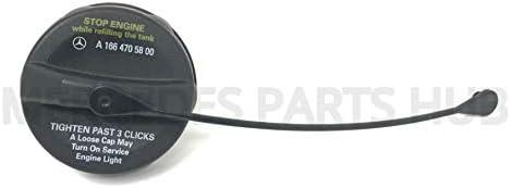 Genuine Mercedes Benz Fuel Gas Tank Filler Cap OEM 166 470 58 00