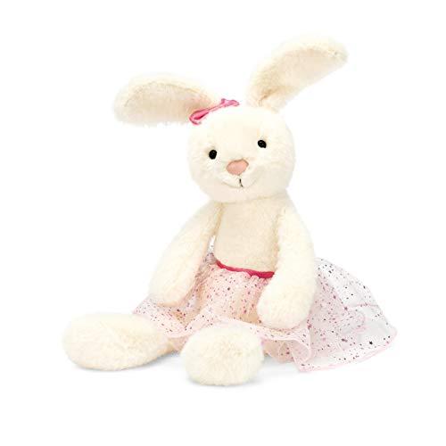 Jellycat Belle Ballet Bunny Stuffed Animal, Medium, 12 - 9 Bunny Inch