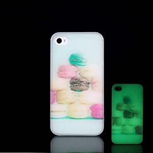 ZXSPACE iPhone 5/iPhone 5S compatible Special Design/Glow in the Dark Back Cover