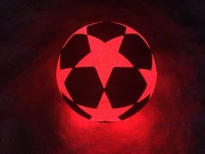 Leuchtfussball NIGHT KICK LED STAR der brandneue Champion der Leuchtfussb/älle