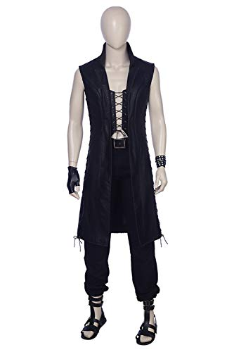 Mutrade Mens Devil May Cry 5 Mysterious Man Vitale V Cosplay Costume,X-Large