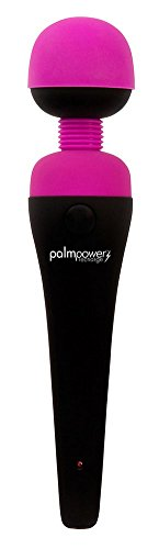 New PalmPower Recharge - Our Most Loved Wand is Now Rechargeable - 100% Silicone Massaging Head - Pinpoint Massage - Ultimate Massage Power from Europe's #1 Massager - Perfect Travel Ready Vibes!