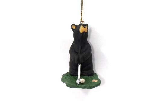 Bearfoot Golfer Bear Ornament 5070018 (Golfer Bear)