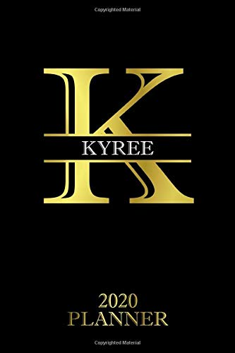Kyree: 2020 Planner - Personalised Name Organizer - Plan Days, Set Goals & Get Stuff Done (6x9, 175 Pages) (Best Planners For Gift) Planners For Everyone
