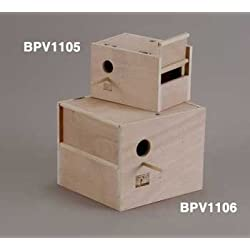 Prevue Pet Products BPV1106 Outside Mount Nest Box for Cockatiel, Large