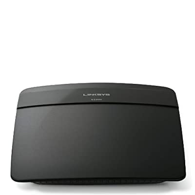 Linksys N300 Wi-Fi Wireless Router with Linksys Connect Including Parental Controls & Advanced Settings (E1200) from Linksys