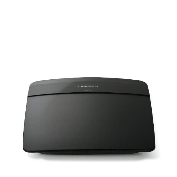 Linksys E1200 N300 Wi-Fi Wireless Router with Connect Including Parental Controls & Advanced Settings, Black