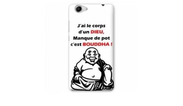Amazon.com: Case Carcasa Wiko Fever 4G Humour - - bouddha B ...