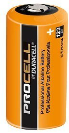 Pack of 100 Duracell Procell Professional PL123A 3V Photo Lithium Battery by Duracell