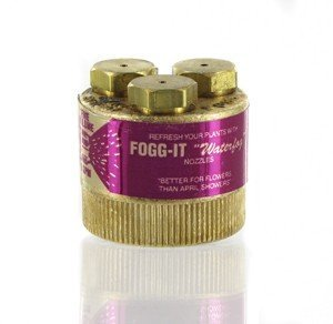 Fogg-it Nozzle Standard Hose Connection, Fog Spray Hose Attachment ()