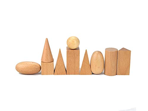Yiyane Building Blocks, Wooden Construction Bricks Toy Set