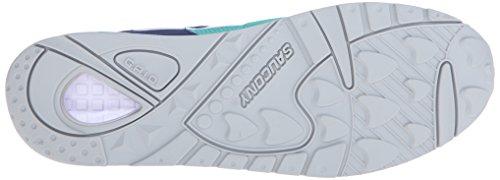 Saucony Originaler Menns Grid 9000 Sneaker Navy / Grønn