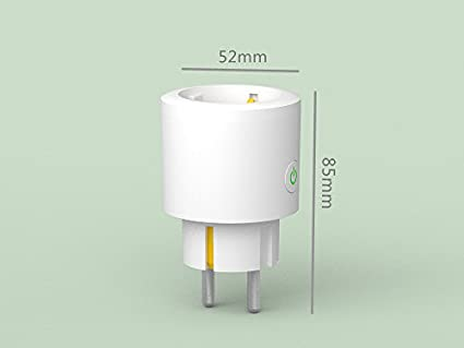 2018 New WiFi Intelligent Socket 16A with Metering Voice