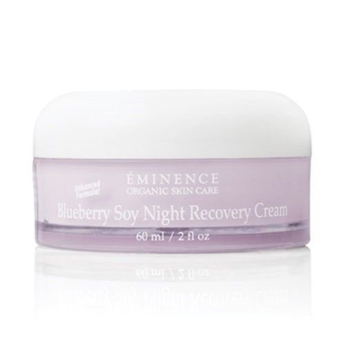 EMINENCE Blueberry Soy Night Recovery Cream 2 oz / 60 ml New Fresh Product ()