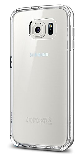 Spigen Neo Hybrid CC Designed for Samsung Galaxy S6 Case (2015) - Satin Silver