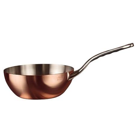 Sartén de cobre cónica para saltear Inocuivre 1,7L De Buyer: Amazon.es: Hogar