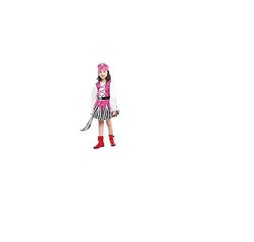 Rosa Ballettröckchen-Kleid-Mädchen-Halloween-Kostüme für Kinder Piraten-Kostüm