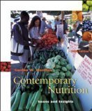 Contemporary Nutrition issues and insights, Gordon M. Wardlaw, 0072316160