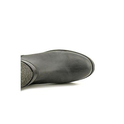 Geluksmerk Falta Dames Zwart Lederen Kniehoge Laarzen Us5.5m