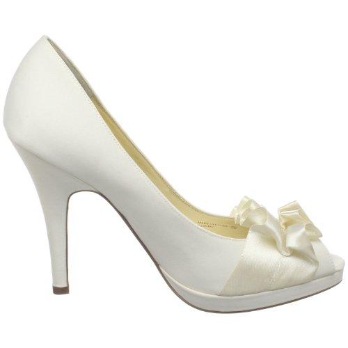 Bridal Nina Donna Beige Tacco avorio Elelixa Col Scarpe pddqxPvf