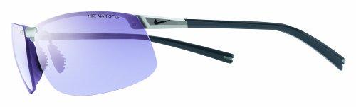 Nike Vision Forge Rimless Pro Lunettes de soleil sans montures pour homme Gris métal