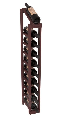 Wine Racks America Ponderosa Pine 1 Column 10 Row Display Top Kit. 13 Stains to Choose From! For Sale