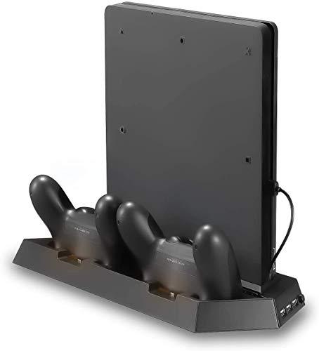 Soporte Vertical con Ventiladores de Refrigeración, PTN Estación de Carga con Controlador Dual Todo en Uno…