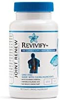 Revivify NonGMO Joint Renew with Glucosamine MSM  Natural Nutrients and Contains White Willow Bark