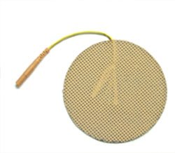 """AccuMed Trode - 3"""" Round Electrodes - 1 Case (10-Packs - 4 per Pack)"""