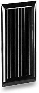 ZHANGJINPING LDTR-WG0069 / G 0,5 V 185 mA 48 x 21 mm Mini-Solarzelle aus polykristallinem Silizium - SCHWARZ