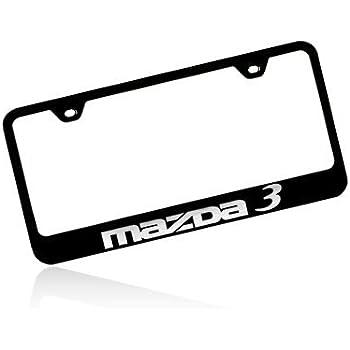 amazon mazda 3 black stainless steel license plate frame Flat Key Chrysler mazda 3 black stainless steel license plate frame