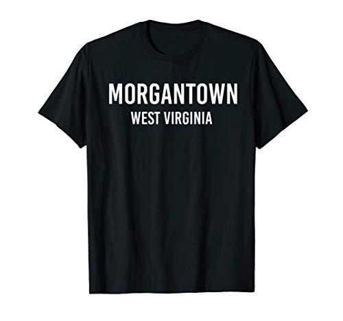MORGANTOWN WEST VIRGINIA VA USA Patriotic Vintage Sports T-Shirt