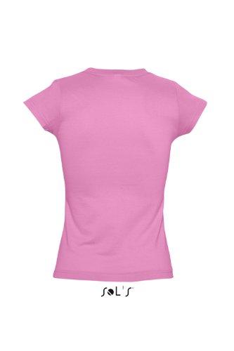 Sol 's–Ladies Cuello en V-Camiseta Moon orchid pink