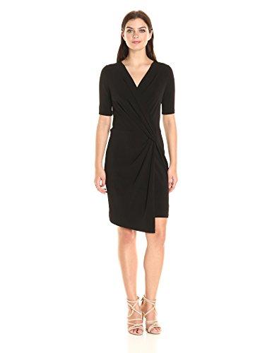 karen-kane-womens-crossover-drape-dress-black-s