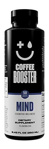 Coffee Booster Mind for Cognitive Wellness – Liquid Supplement Additive for Coffee, Tea, Smoothies and Other Beverages…