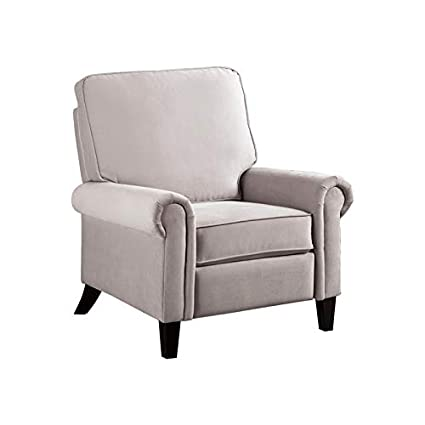 Admirable Amazon Com Abbyson Living Anchorage Grey Push Back Recliner Gmtry Best Dining Table And Chair Ideas Images Gmtryco