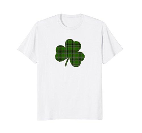Irish St Patrick's Day shirt Green Flannel Shamrock (Green Flannel Irish)
