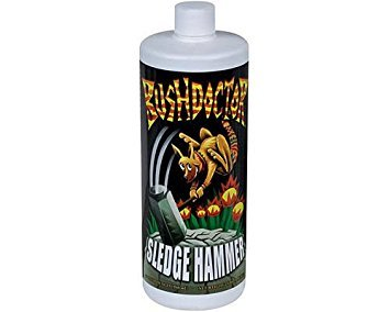 Fox Farm Bushdoctor Sledge Hammer Quart 32oz QT Nutrient Rinse Flush FoxFarm by Rosotion
