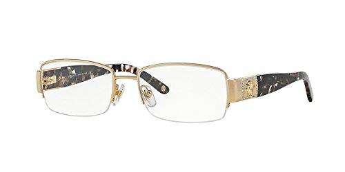Versace VE1175B Eyeglasses-1002 Gold-53mm by Versace