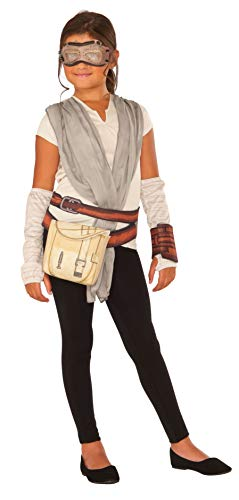 Star Wars Episode VII Rey Boxed Costume Top and Accessory Set ()