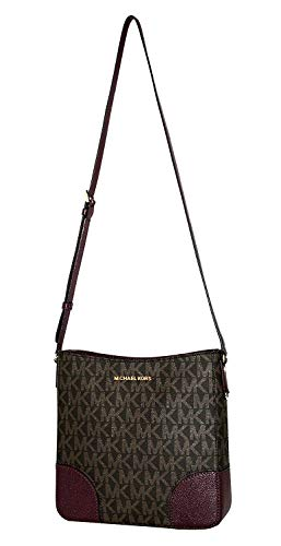 MICHAEL Michael Kors Women's HATTIE Large Messenger Shoulder Handbag Vanilla/Ballet