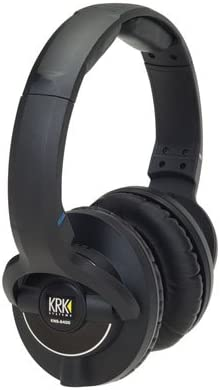 KRK KNS 8400 On-Ear Closed Back Circumaural Studio Monitor Headphones with Volume Control