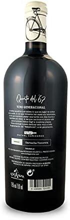 BODEGAS Y VIÑEDOS VOLVER | Vino Tinto Quinta del ´67 | Vino de Almansa | Variedad de uva Garnacha Tintorera | Cosecha de 2017 | (1 Botella x 750 ml) |